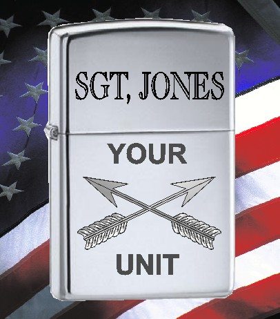 ZIPPO LIGHTER US ARMY SPEC FORCES - Product Image