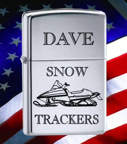ZIPPO SNOWMOBILE - Product Image