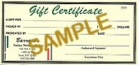 MAINE STORE GIFT CERTIFICATE - Product Image